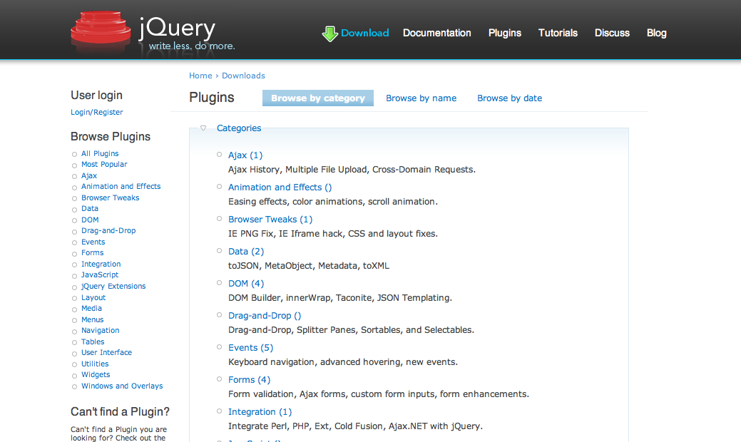 jQuery Plugin Repository