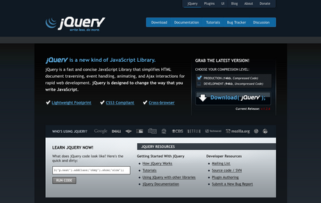 jQuery Homepage