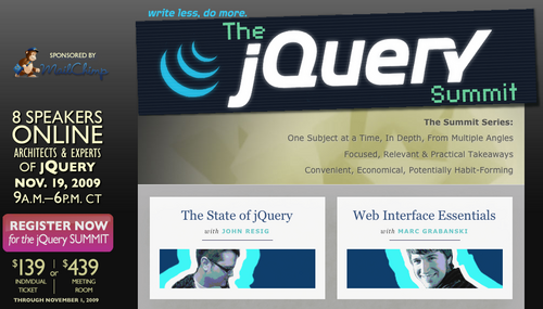 jQuery Summit