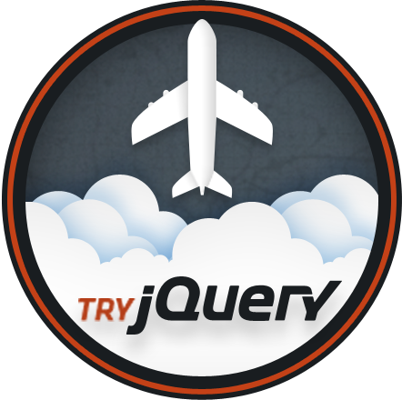 Try jQuery Course Badge